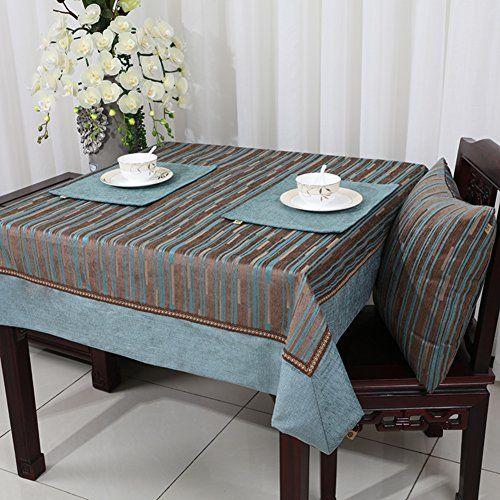 pastoral american style cloth fabrics chenille table cloth table rh pinterest com