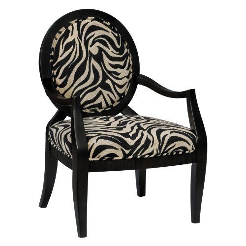 Best Accent Seating Collection Armchair In Zebra Stripe By 400 x 300
