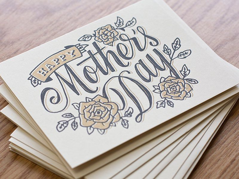 Instagram Photo By Graphicgang May 9 2016 At 5 31am Utc Happy Mother S Day Calligraphy Mothers Day Drawings Happy Mother S Day Card