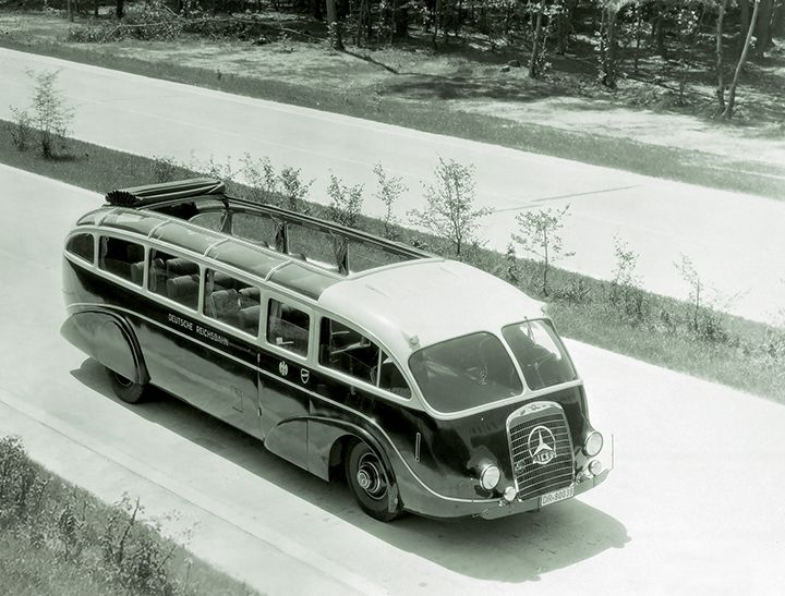 The Buses Of Daimler Benz Starfest Mercedes