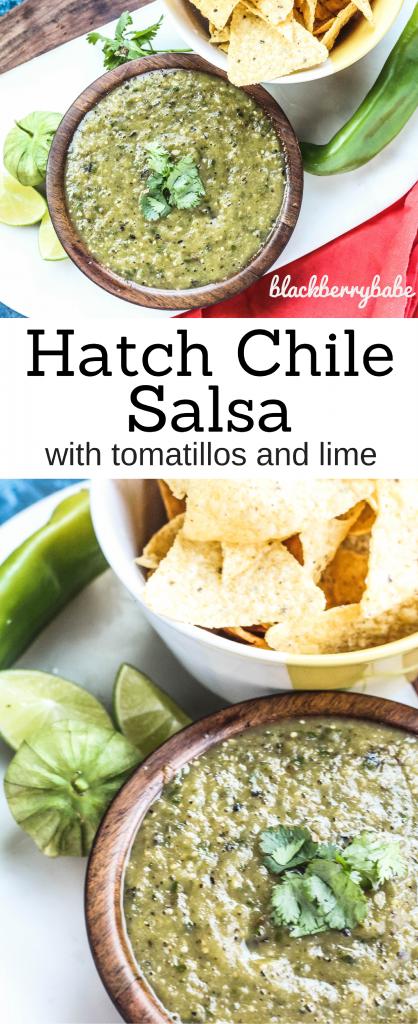 Hatch Green Chile Salsa Verde Hatch Salsa Hatch Chile Recipe Hatch Chile Salsa Hatch Recip Hatch Chile Recipes Mexican Food Recipes Green Chile Recipes