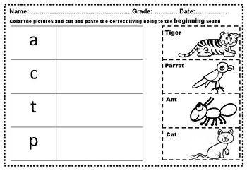 Pin On Kindergarten Printable Worksheets