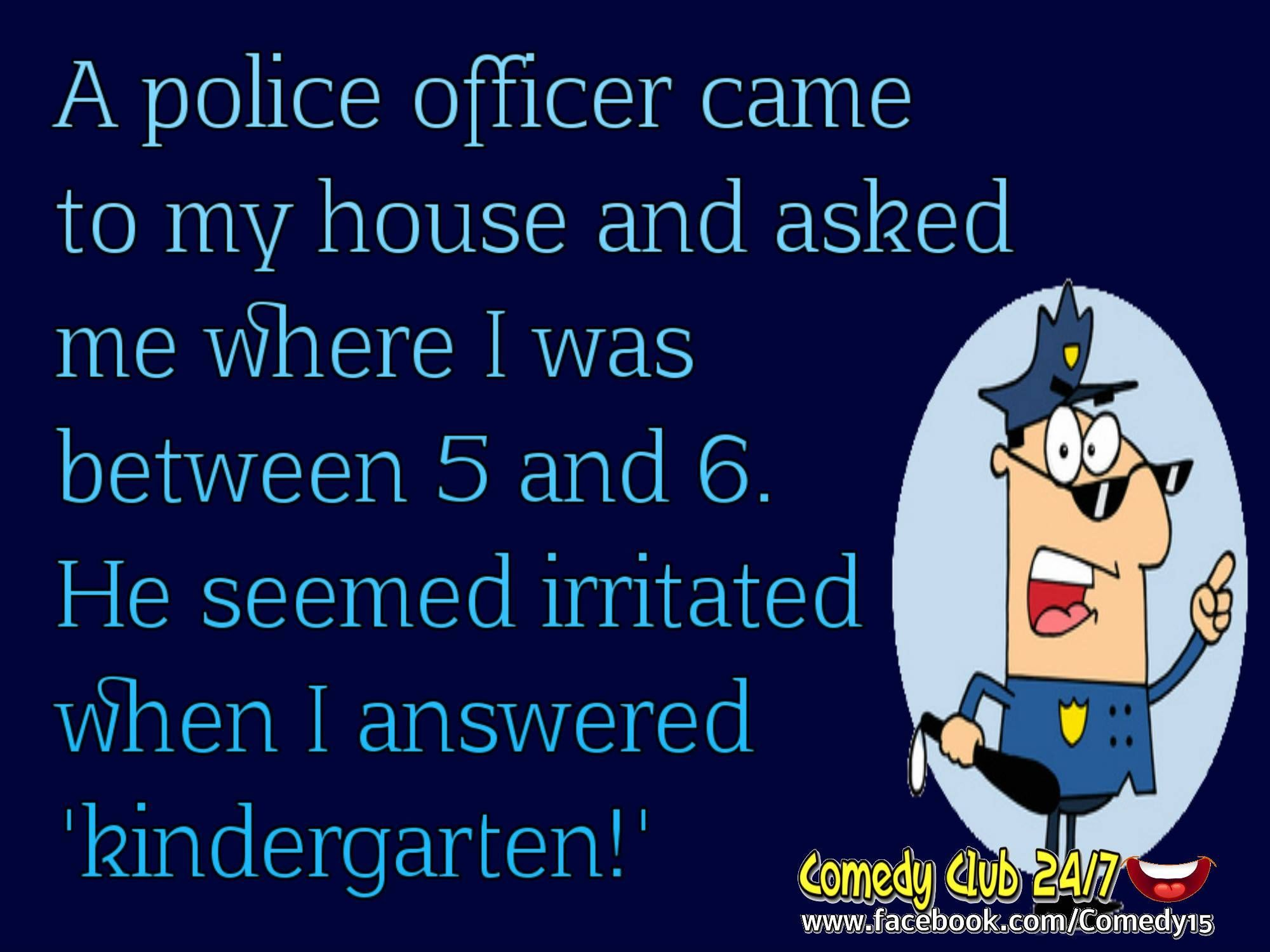 Funny Police Officer Joke Funny Police Quotes Jokes Quotes Police Humor