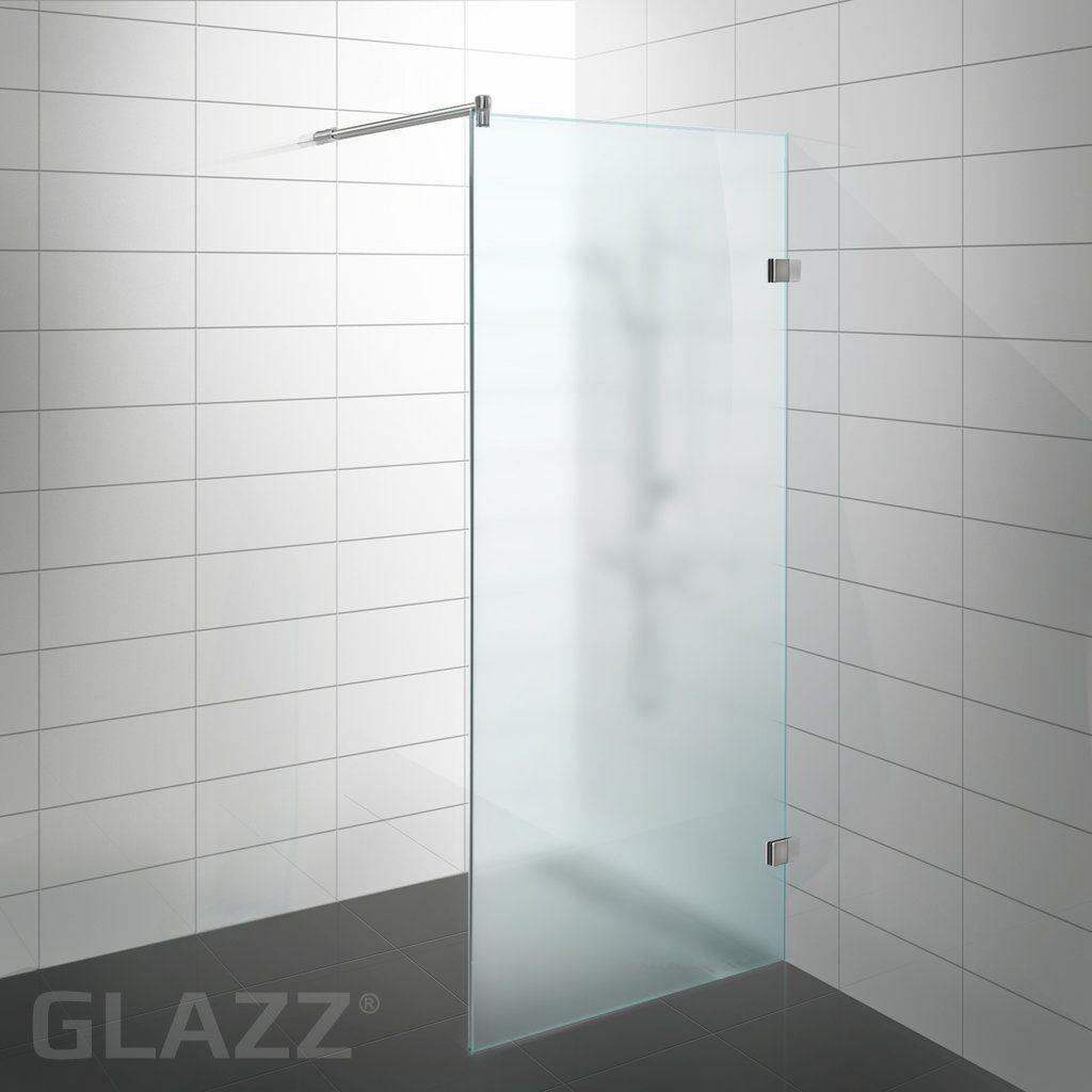 Douchewand mat glas google zoeken badkamer pinterest zoeken google en glazen douches - Glas betegelde badkamer bad ...