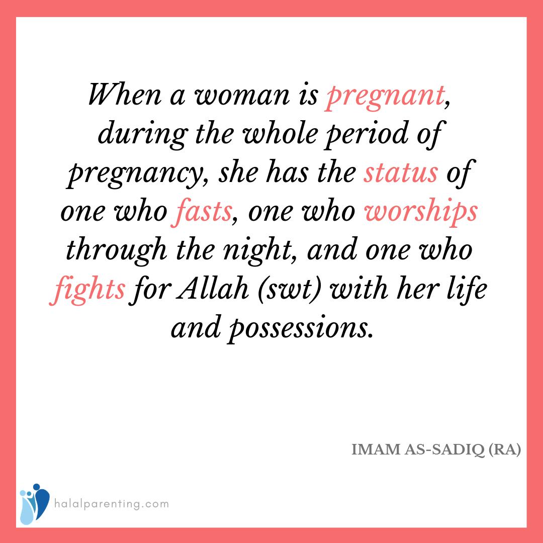 Status Of Pregnant Women In Islam Islam Women Pregnant Pregnant Women