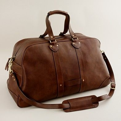 Love men's bags. Perfect weekender. (J. Crew) | fashion ...