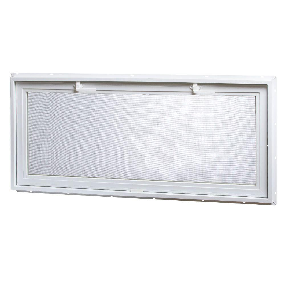 X3 117 42 Tafco Windows 46 25 In X 21 In Large Hopper Ranch Vinyl Window White Vrh4621 I The Home Dep In 2020 Window Vinyl Vinyl Casement Windows Window Design