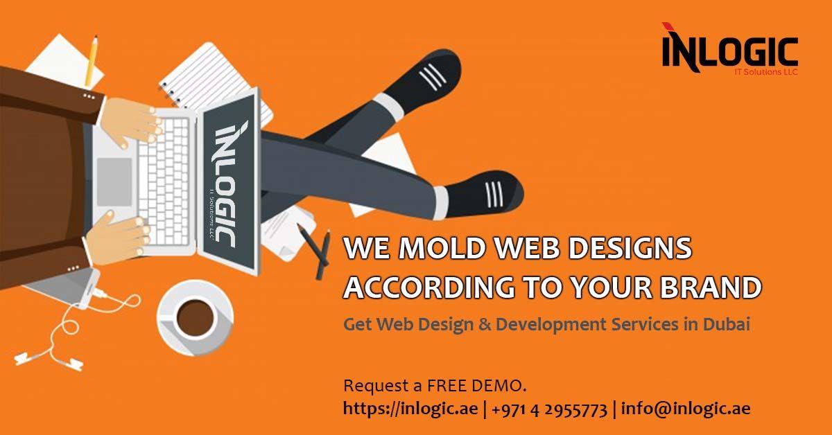 Inlogic Web Design Development Company Dubai Web Design Web Development Design Online Web Design