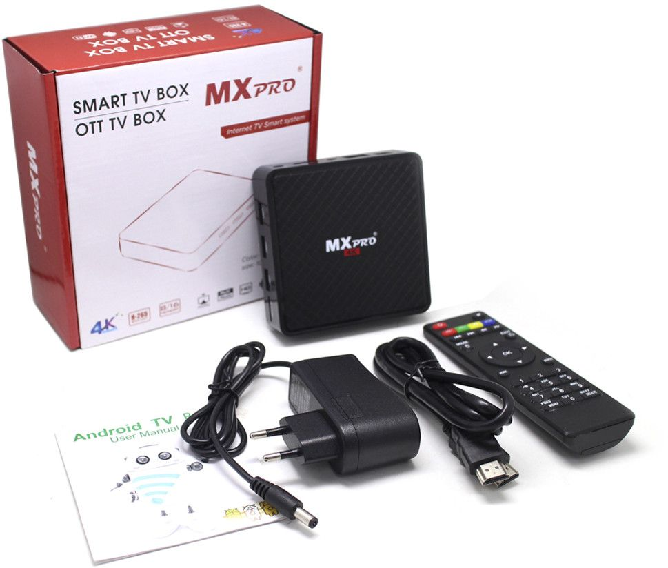 MX Pro 4K is an Android 7 0 TV Box powered by Allwinner H5