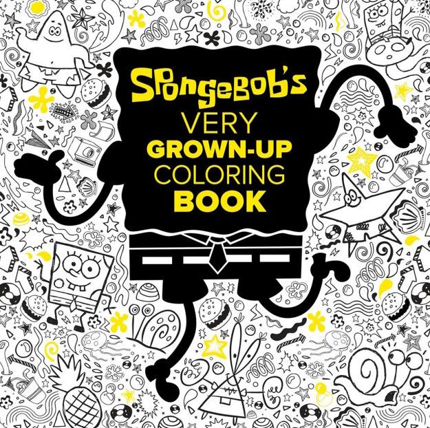 fans of nickelodeons spongebob squarepants will love the amazingly detailed coloring book featuring a foiled cover its perfect for boys girls - Nickelodeon Coloring Book