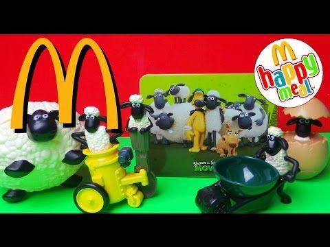 Latest Mcdonalds Shaun The Sheep Kids Happy Meal Top 6 Toys Review Mcdonalds Kids Happy Meal Toys Toys