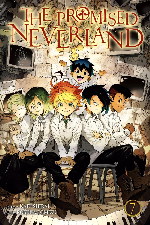 Yakusoku No Neverland - Episode 3 Vostfr : yakusoku, neverland, episode, vostfr, Promised, Neverland, Chapter, Manga, Covers,, Anime, Printables,, Poster, Prints