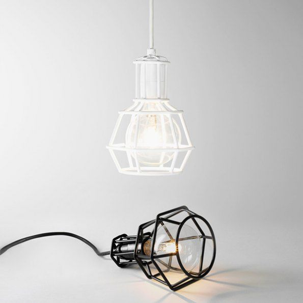 Work Lamps By Form Us With Love I The Iconist Blackandwhite Designlamps Small Pendant Lights