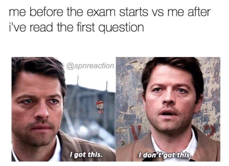 20 Memes Those Suffering In College Will Understand Funny College Memes College Memes Supernatural Funny