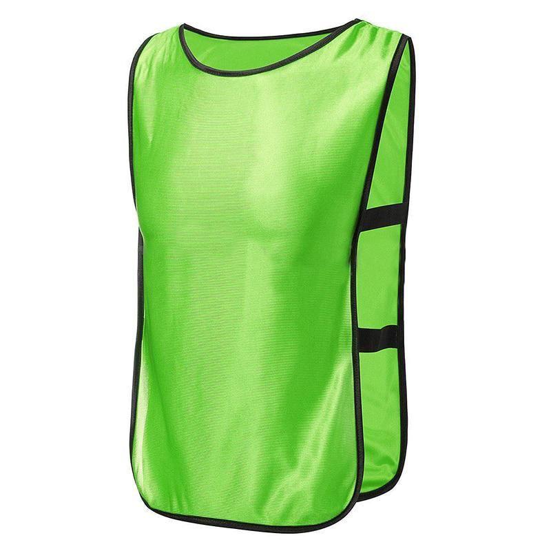 10x Summer Sports Soccer Football Basketball Vest Training Bibs Adult Us 21 32 Sport Soccer Basketball Vests Summer Sports
