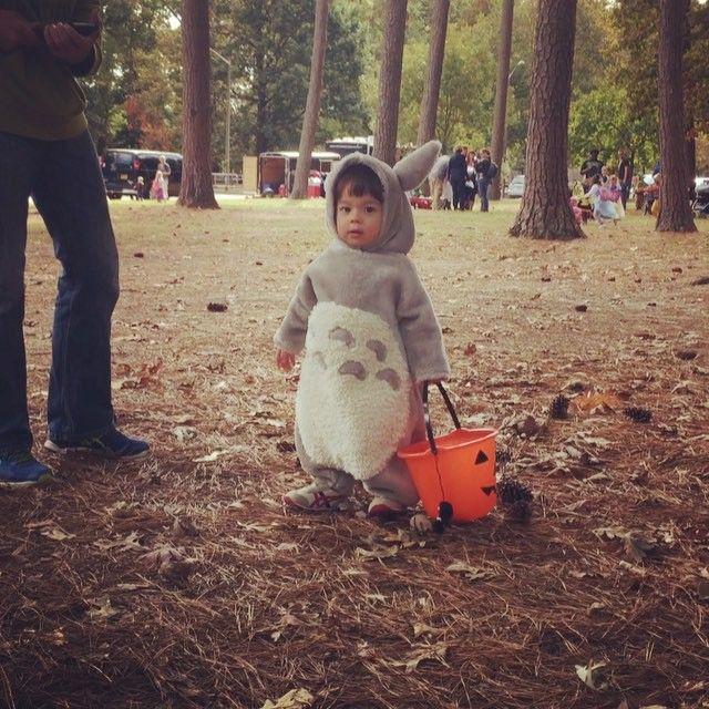 Totoro Costume DIY My Neighbor Totoro Halloween Costume for Toddler