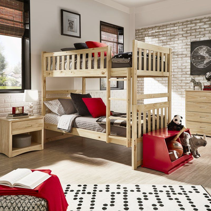Viv Rae Spillman Bed Reviews Wayfair Bunk Beds With Drawers Bunk Bed With Trundle Loft Bed Frame