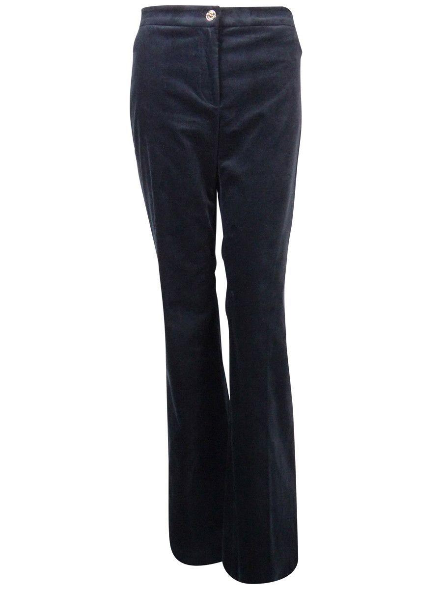 Michael Kors Women's Wide Leg Velvet Dress Pants