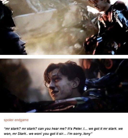 #avengers endgame spoiler # tony stark # peter parker - #Avengers #Endgame #Parker #Peter #SPOILER #Stark #Tony #peterparker