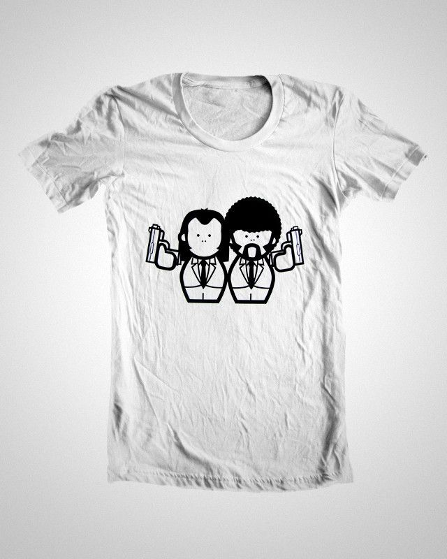 T Shirt Design Online India | Quotes T Shirts Online India Buy Pulp Fiction Tshirt Designs