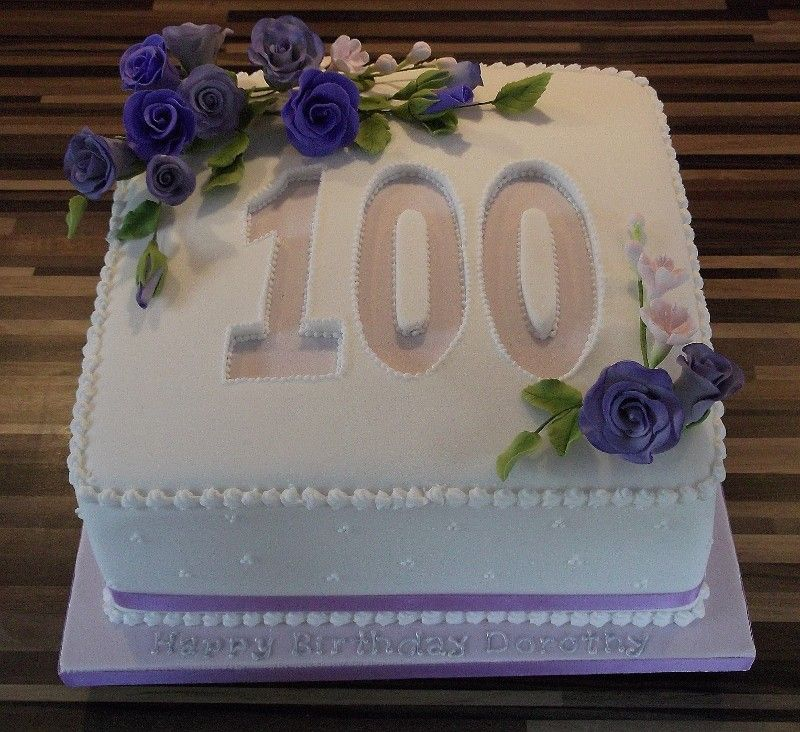 100th Birthday Cakes