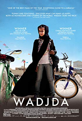 Wajdja A Movie Made In Saudi Arabia Director Screenplay Haifaa Al Mansour Music By Max Richter In 2020 Kids Movies Green Bicycle Los Angeles Film Festival