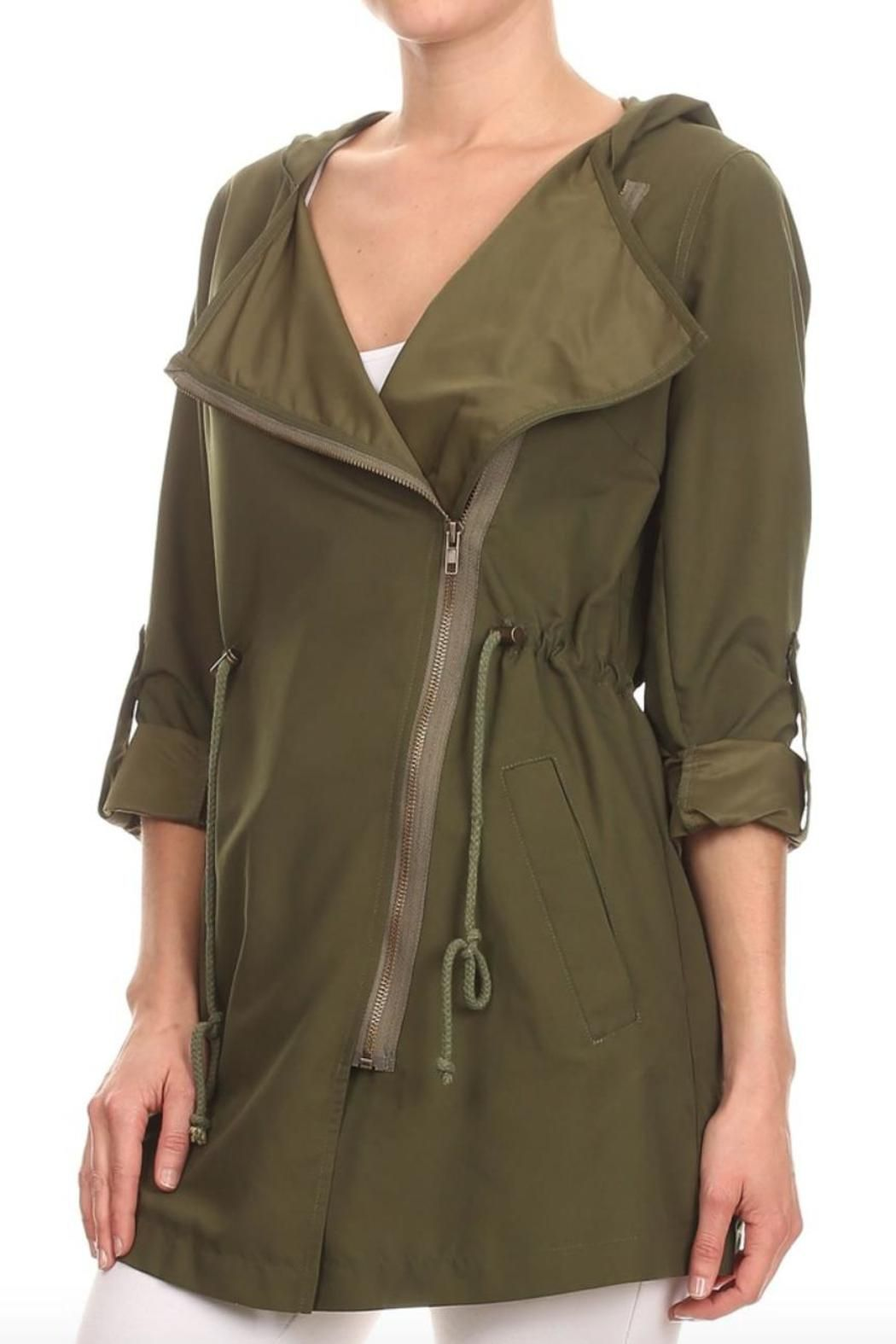 Haute Monde Summer Rain Jacket | Coats, Warm and Sleeve