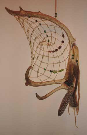 Alaska Antler Seward Antler Dreamcatcher Dreamcatchers Inspiration Alaskan Dream Catcher