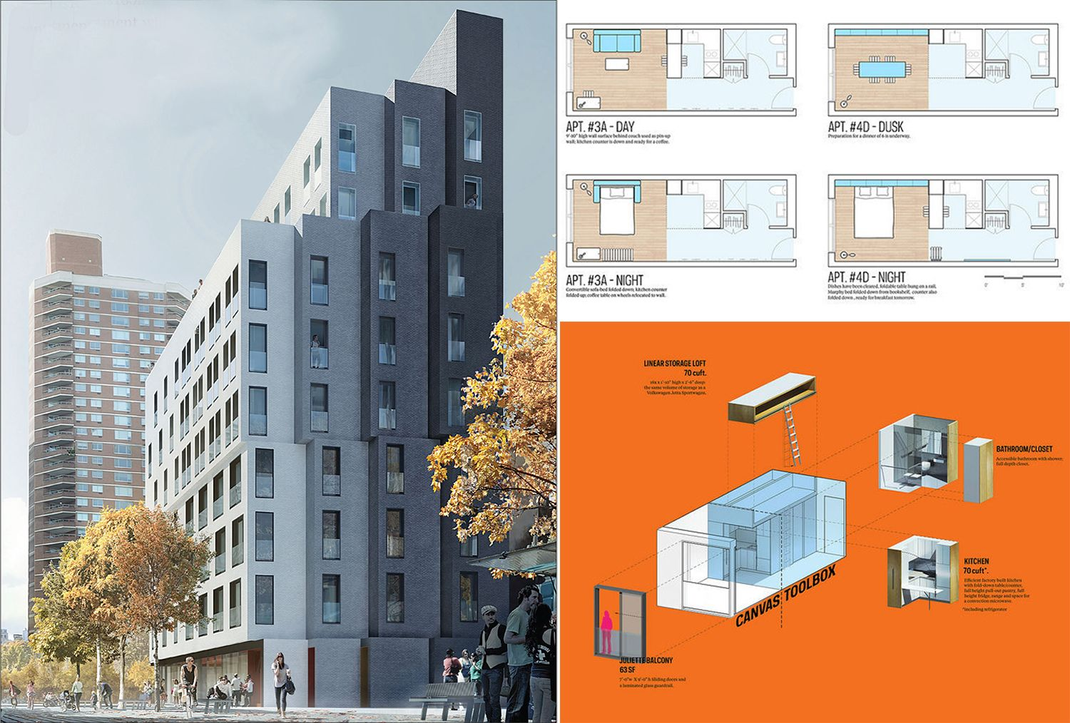 Nyc S First Micro Apartment Complex Now Accepting Applications Units As Low As 950 Month 6sqft Micro Apartment Apartment Projects Apartment Architecture