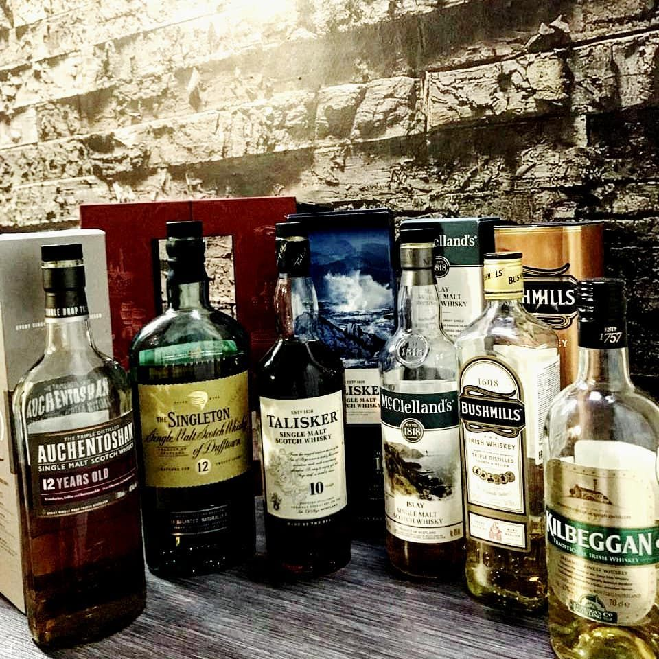 What is the difference between scotch and whiskey, as well as brandy brandy