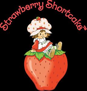 Strawberry Shortcake Logo Vector Strawberry Shortcake Characters Vintage Cartoon Shortcake