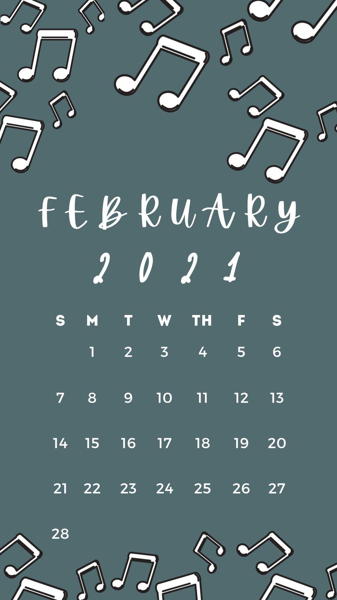 February 2021 Calendar Wallpaper In 2021 Calendar Wallpaper Calendar Wallpaper