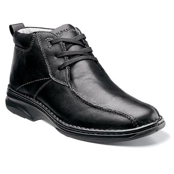 black leather chukka boot  boots dress shoes men shoes