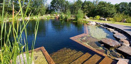 Marvelous Baden im eigenen Schwimmteich