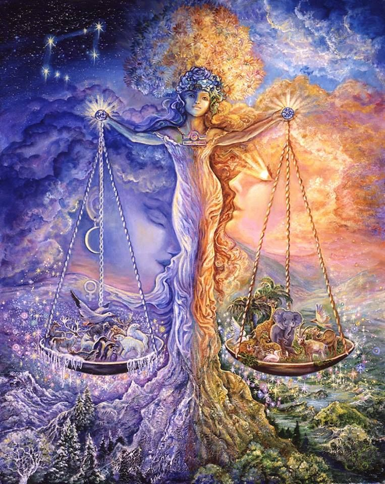 """Balance"" par Josephine Wall"