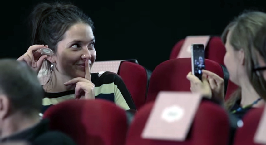 "[Video] The Nobody's Children Foundation ""Secret"" Commercial Shocks People In Warsaw Cinema"
