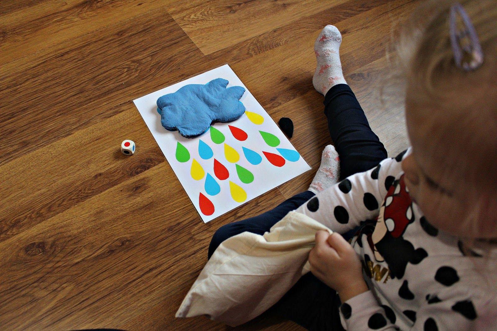 Farben lernen. Wolken Spiel.DIY. 2-3 Jahren | mutterlove@outlook.de ...