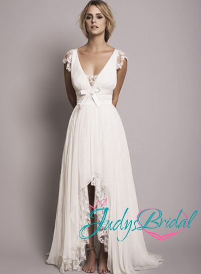 chiffon beach wedding dress - Google Search | INSPIRACJE ...