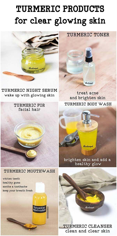 Amazing Diy Turmeric Beauty Products Natural Skin Care Skin Care Turmeric