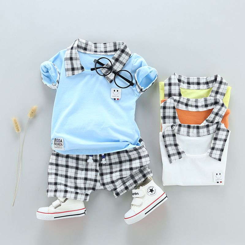 Hot Sale Summer Clothing Kids Sets Appliqued Baby Boys Clothes Sets 1 4 Years Old Find Complete Details Childrens Clothes Kids Outfits Childrens Clothes Boys