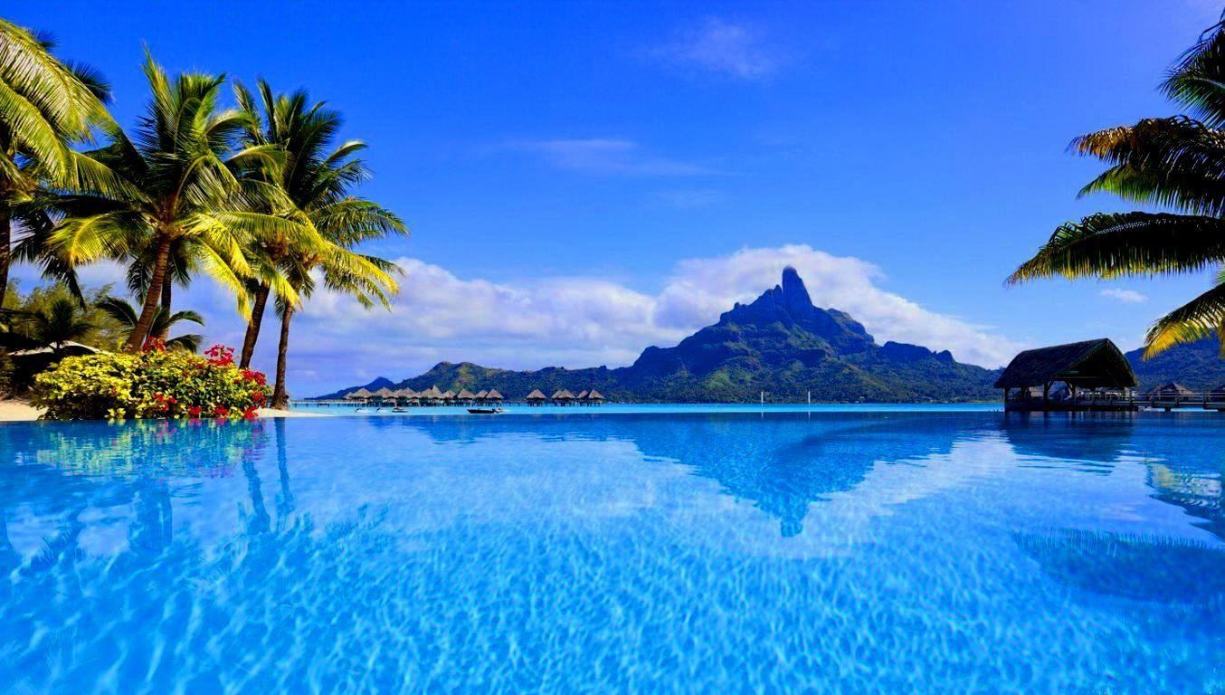 Bora Bora Backgrounds | Beach Wallpaper | Bora bora ...