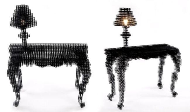 wire furniture