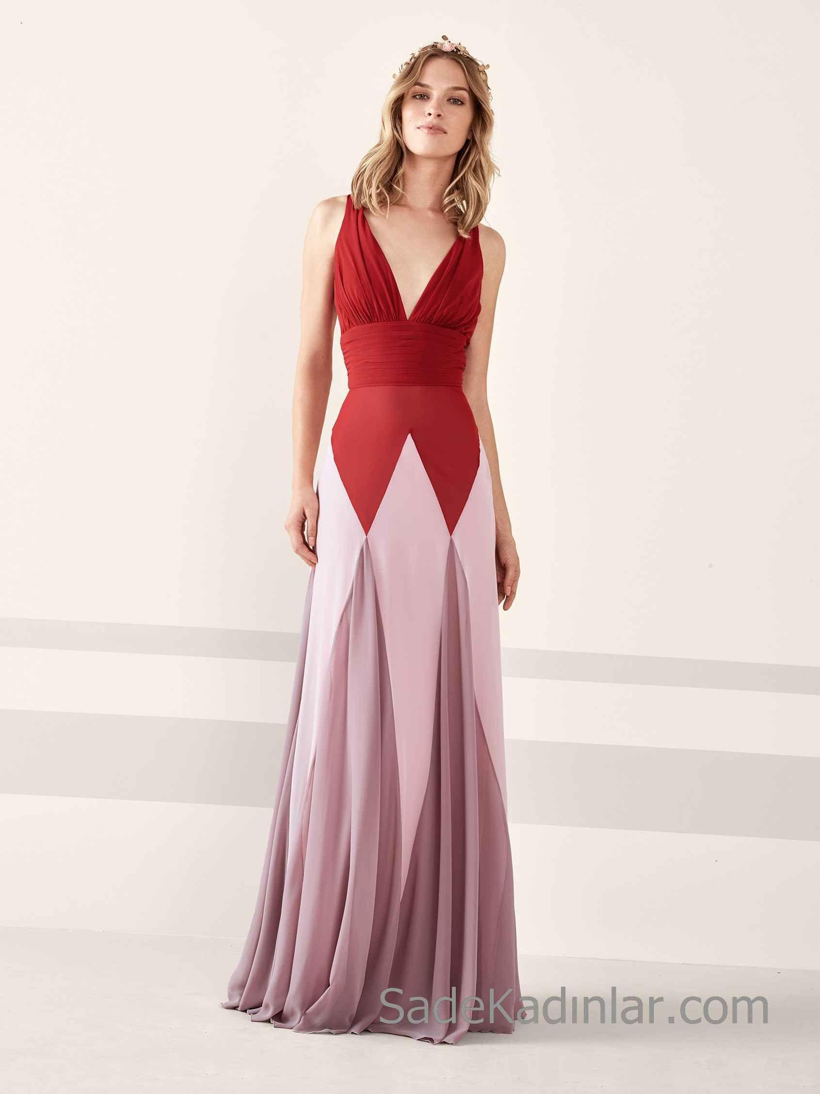 Akşam yemeği için Maksi Elbiseler 2019