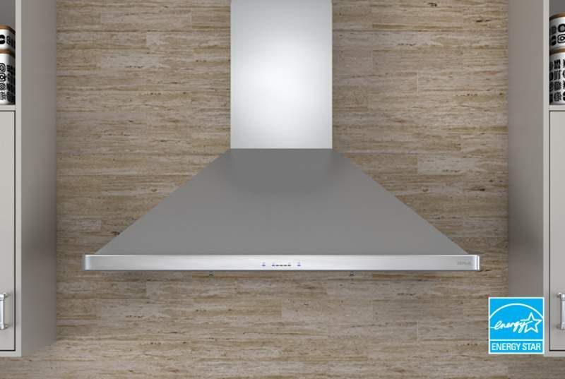 View The Zephyr Zsi E36a Es 400 Cfm 36 Inch Wide Europa Energy Star Rated Wall Mounted Range Hood With With Images Kitchen Inspiration Design Range Hood Recessed Lighting