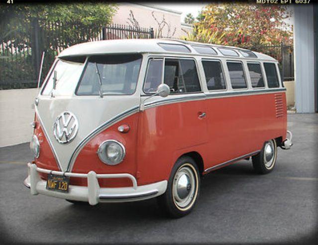 '61 VW 23 Window