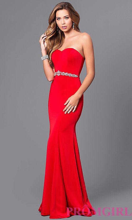 Long Red Prom Dresses Under 200