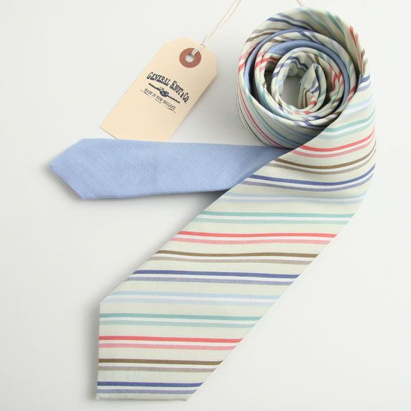 Goodness in tie form from General Knot & Co.