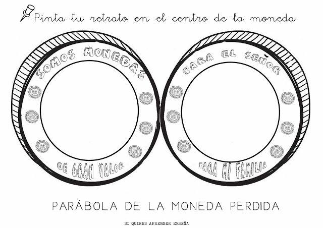 La moneda perdida imagenes para colorear PARÁBOLA DE LA MONEDA