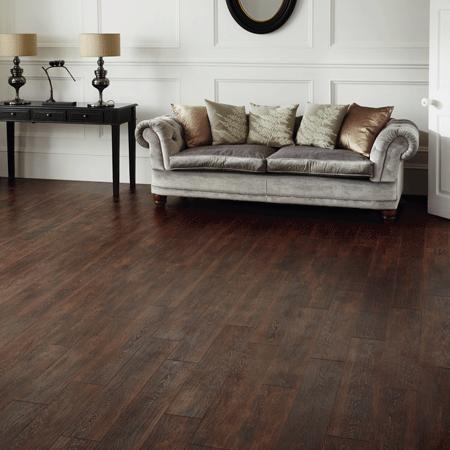 Karndean Sundown Oak To Live Living Room Flooring