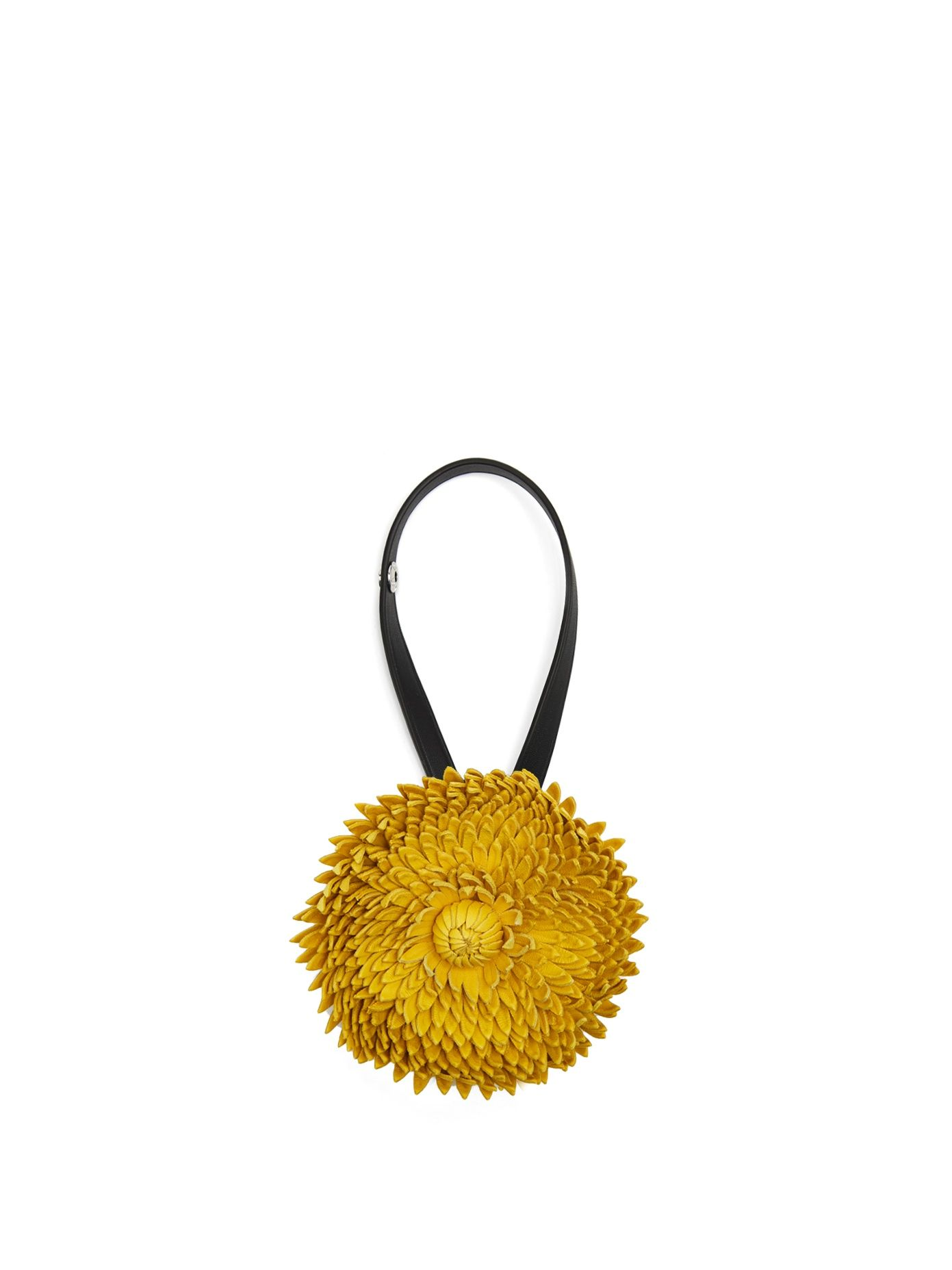 Loewe X William Morris Calendula flower bag charm D77HWWWp